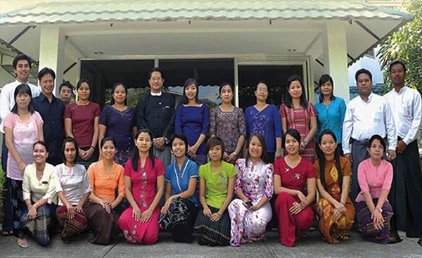 Myanmar Office Team