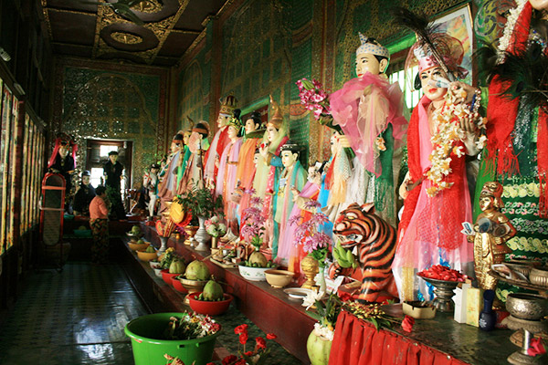 37 Spirit Statues from Popa