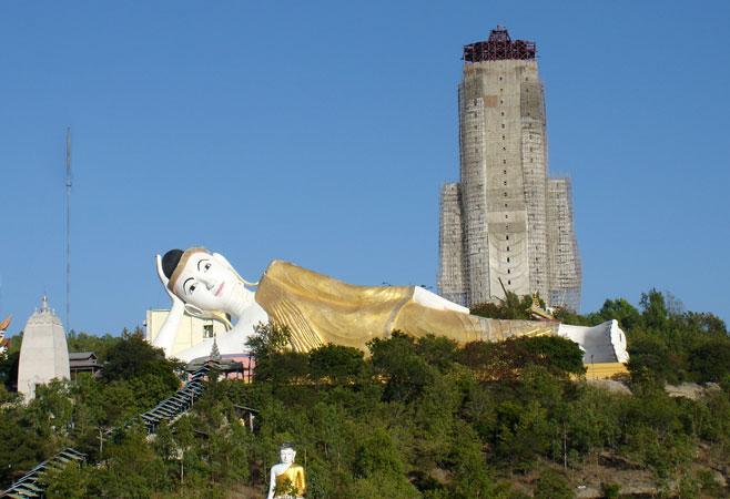 Monywa Myanmar  City new picture : Bodhi Tahtaung Pagoda Monywa,Myanmar