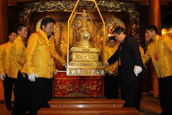 Buddha Tooth Relic Pagoda Mandalay Myanmar