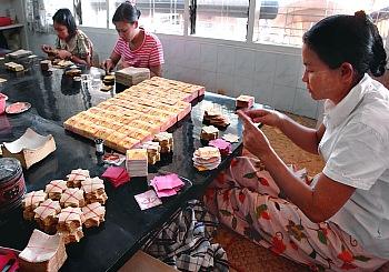 Image result for Gold Leaf Making Industry mandalay