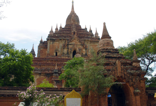 The Htilominlo Temple at Bagan