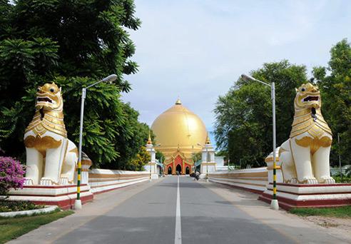 Kaungmudaw Pagoda - Sagaing