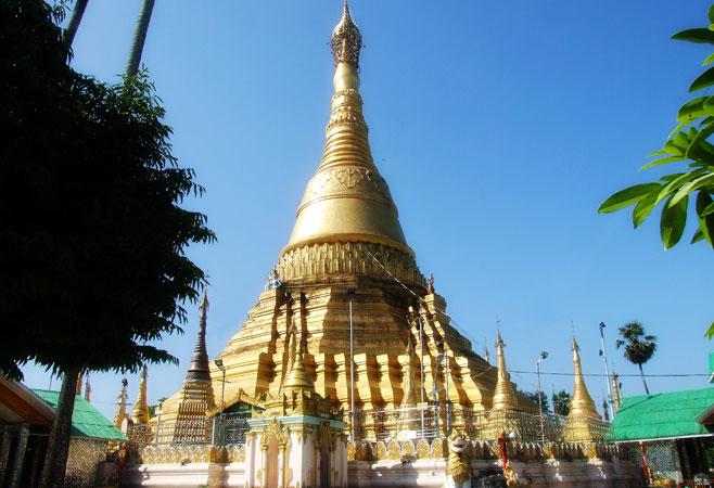 Kyaikkasan Pagoda - Yangon Myanmar