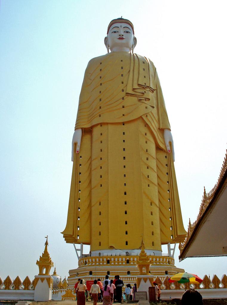 Laykyun Setkyar Standing Buddha - Monywa,Myanmar