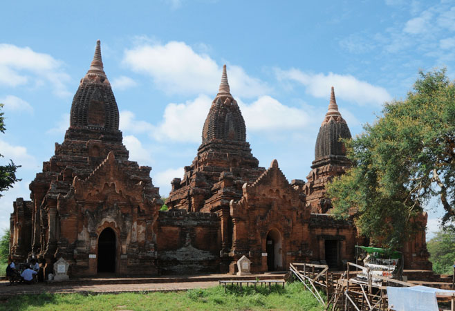 Payathonzu Temple - Bagan Myanmar