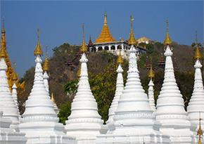 Sandamuni agoda Mandalay Myanmar