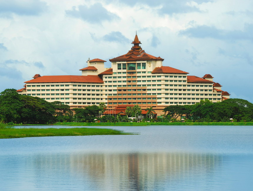 Sedona hotel yangon for Design hotel yangon