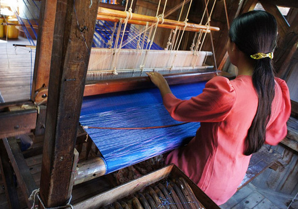 Silk Weaving Workshop