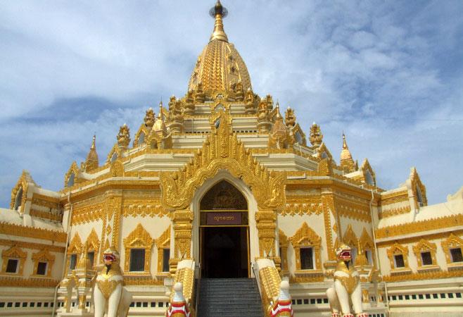 Swe Taw Myat Pagoda - Yangon Myanmar
