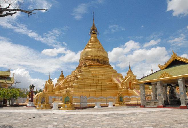 Central golden pagoda