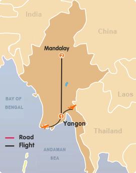 Yangon–Mandalay Tour 4 Days