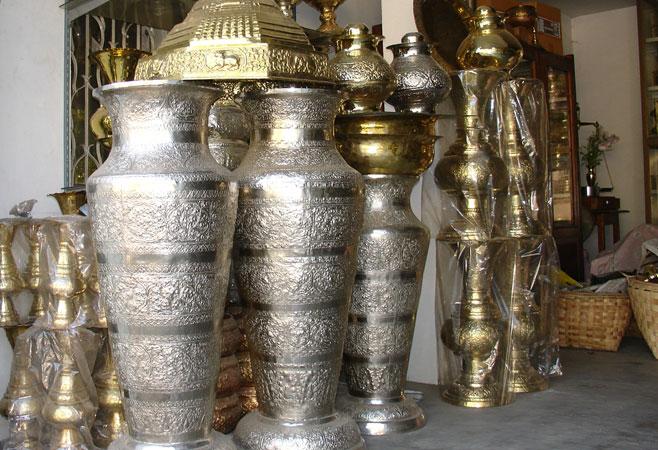 Silver Smith Workshop Sagaing