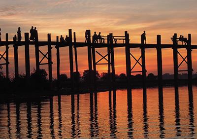 U Bein Wooden Bridge