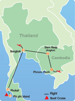 Thailand and Cambodia Tour - 11 Days