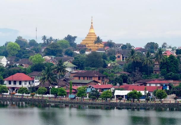 kyaing tong myanmar