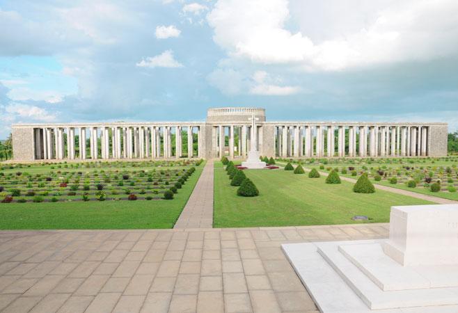 Allied War Memorial Cemetery at Htauk Kyant