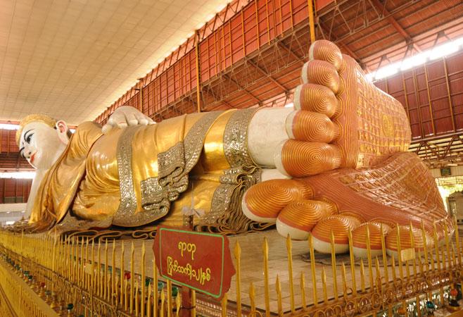 Chauk Htat Gyi Reclining Buddha Image