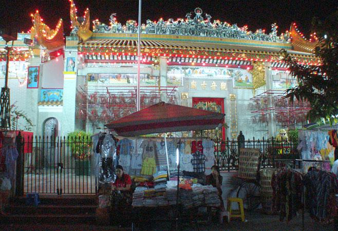 China Town in Yangon Myanmar
