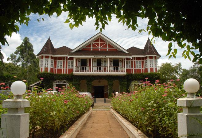 Colonial Houses - Pyin Oo Lwin Myanmar