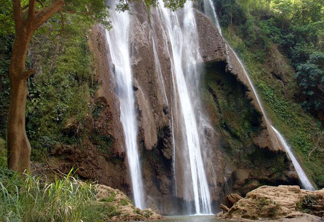 Dattawgyaik Waterfall - Pyin Oo Lwin Myanmar, Anisakan Falls - Pyin Oo Lwin Myanmar