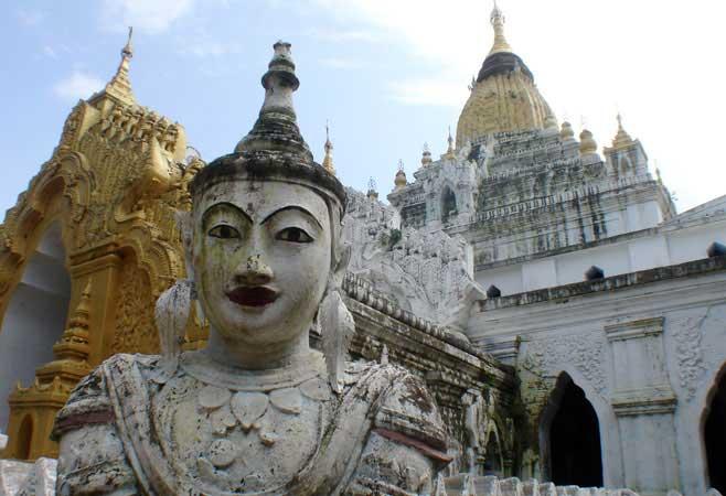 Guardian at the pagoda