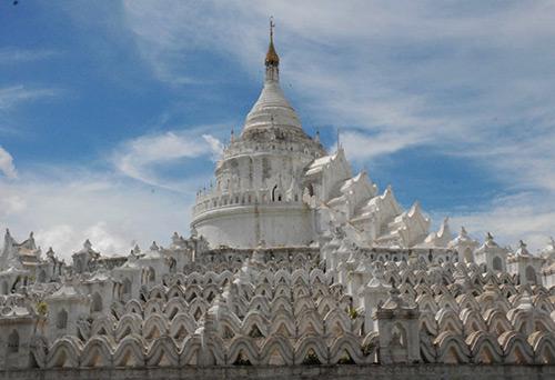 Mya Theindan Pagoda Mingun