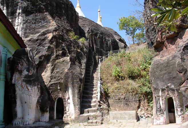 Pho Win Hill - Monywa,Myanmar