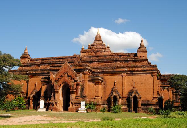 Front view of Pyathadar or Pyathatgyi Temple