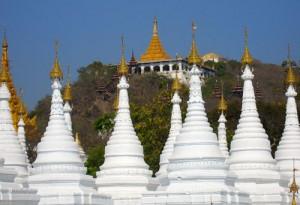 Sandamuni Pagoda Mandalay-Myanmar