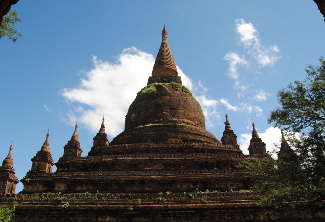 Seddana Pagoda - Bagan Myanmar