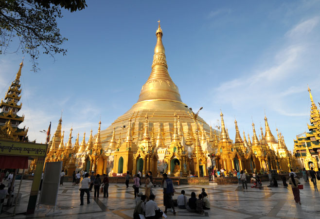 The Magnificent Shwedagon