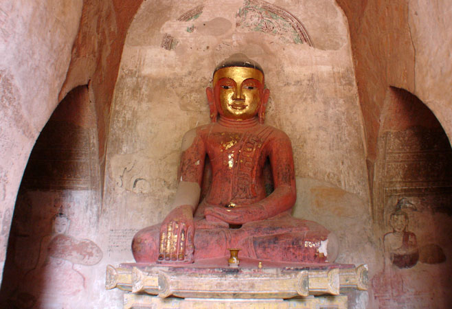 Buddha image of Sulamani Temple