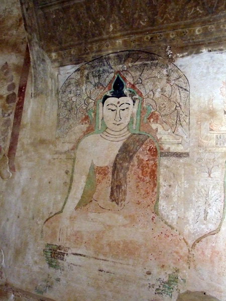 Fresco image - Sulamani Temple - Bagan Myanmar