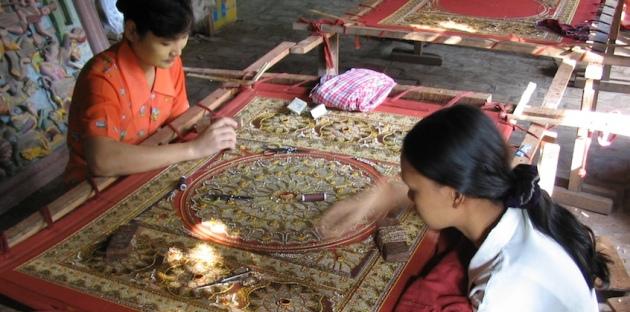 Tapestry Workshop Mandalay Myanmar