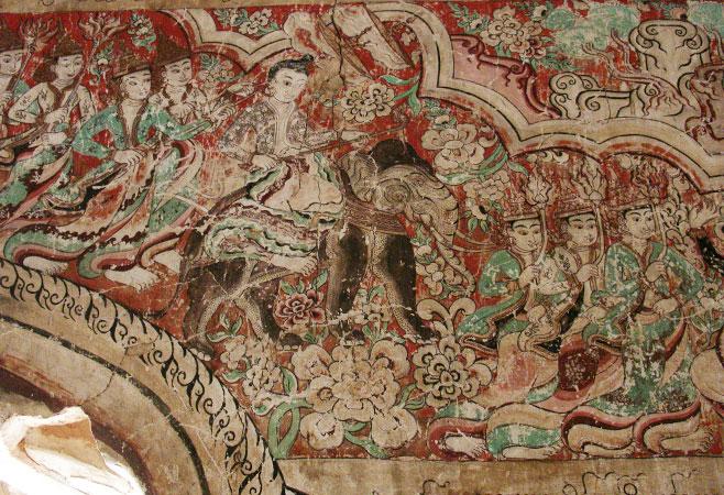 Beautiful frescoes
