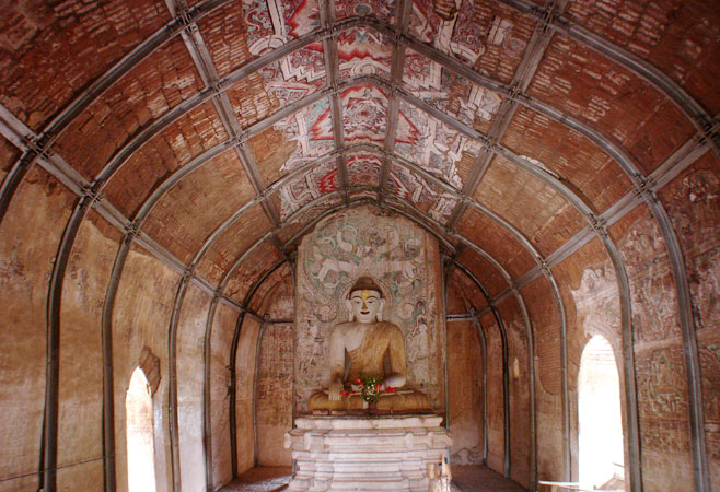 Inside view of Upali Thein