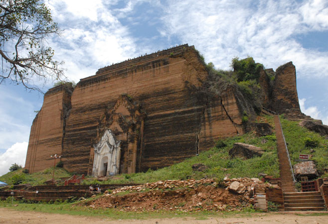 Image result for mingun pagoda images