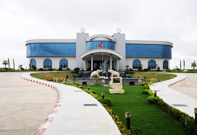 The Gems Museum in Nay Pyi Taw