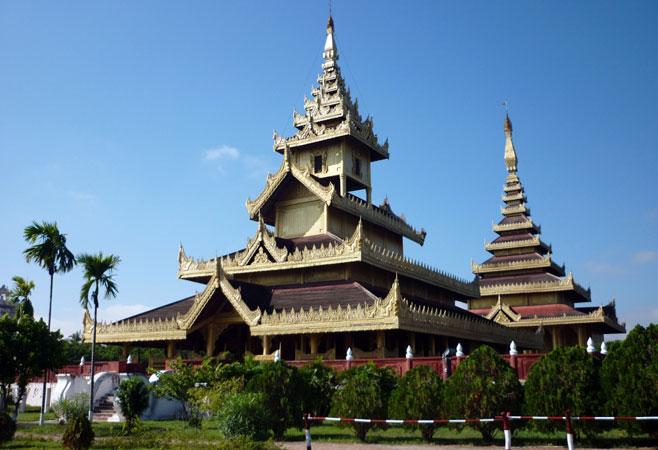 Shwebo reconstructed palace
